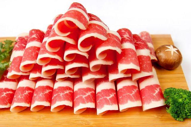 thịt bò chống lão hóa cho da