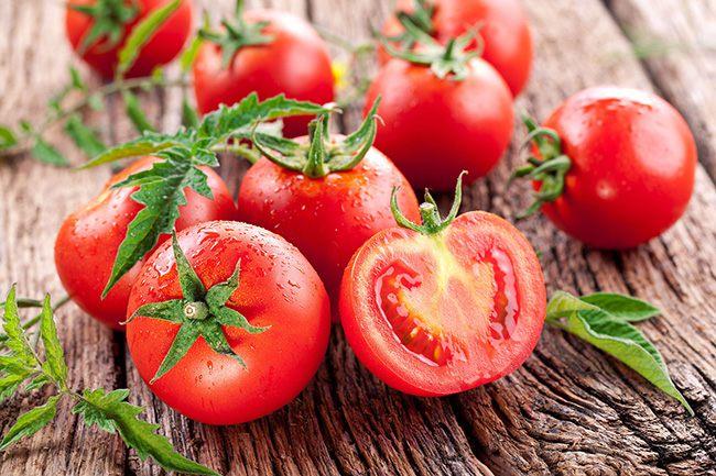 Nước ép cà chua, chuối