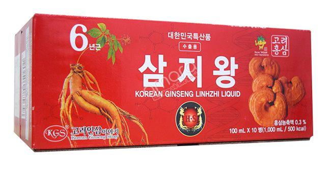 Nước hồng sâm linh chi KGS Hàn Quốc