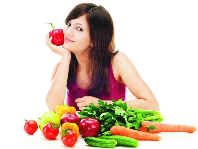 thực đơn giảm cân 1 tháng cho nữ