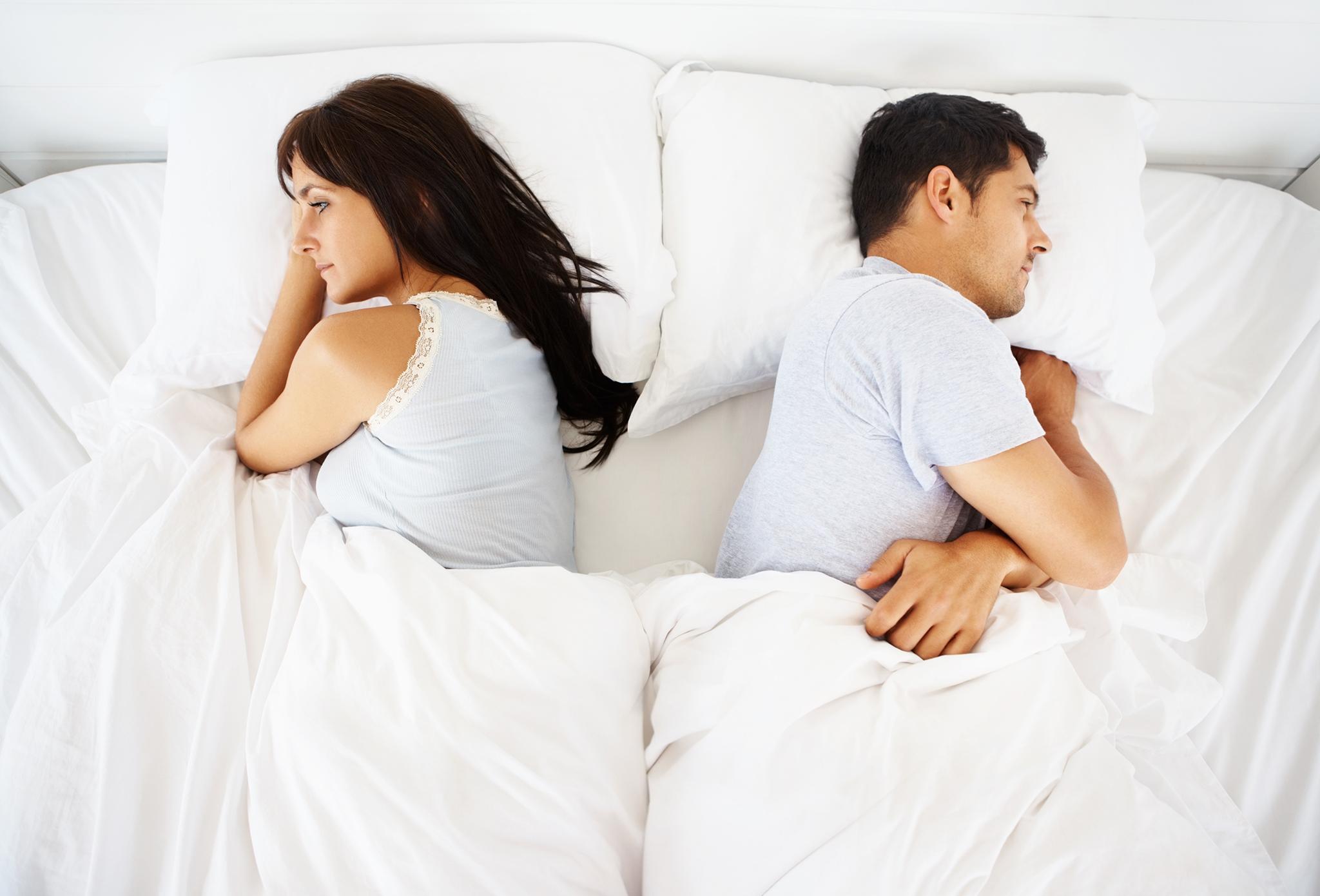Khô hạn vùng kín có thể làm mất cảm hứng cho các cặp đôi.