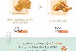 cách ăn bánh trung thu để không bị tăng cân