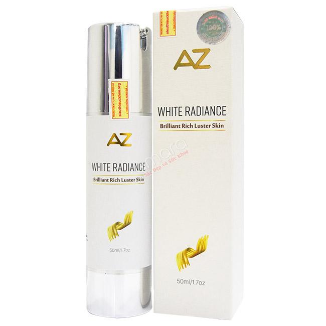 kem trị nám làm trắng da az white radiance