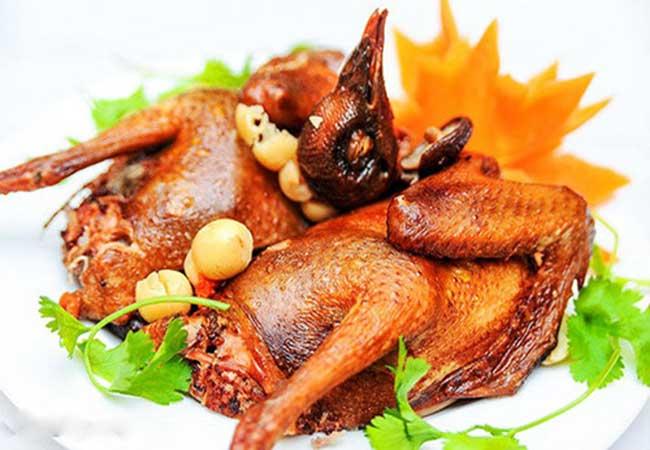 Thịt chim bồ câu