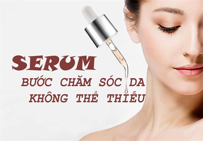 Serum dưỡng da rất quan trọng cho lộ trình chăm sóc da