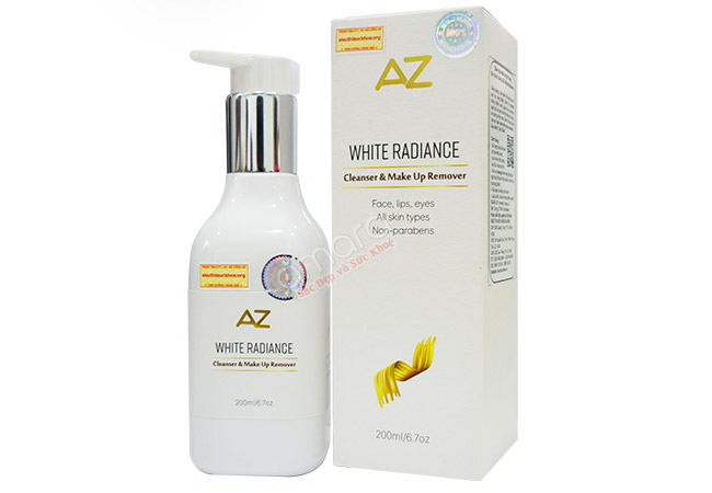 Sữa rửa mặt và tẩy trang AZ White
