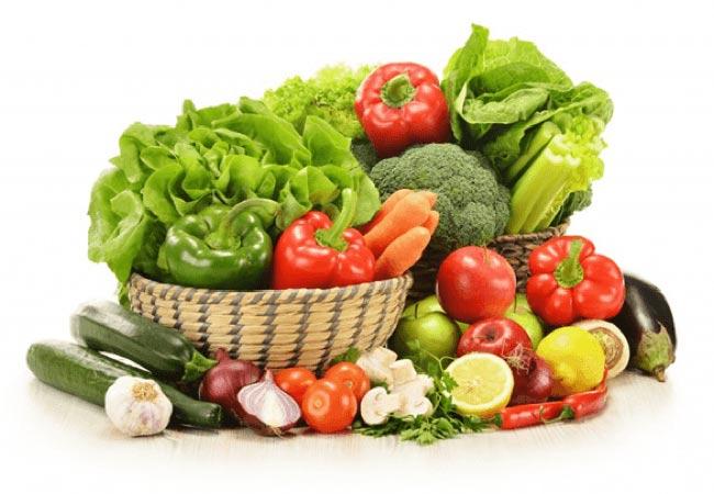 Nhóm thực phẩm rau – củ -quả