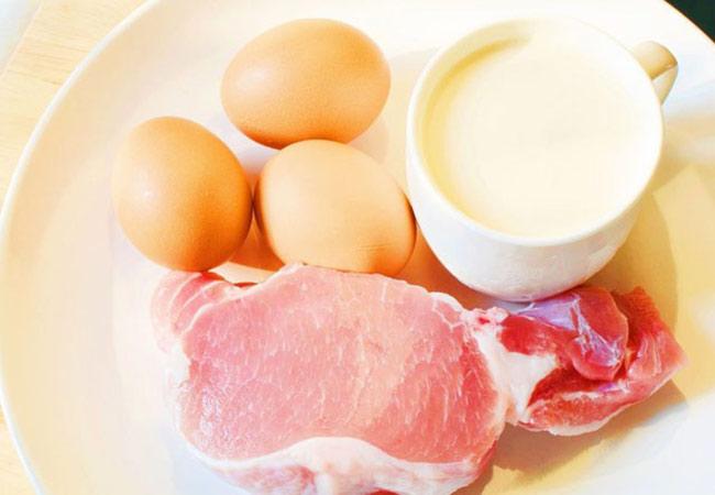 Nhóm thực phẩm thịt – trứng – sữa