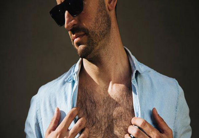 Đàn ông nam tính thường có nhiều lông mọc khắp cơ thể