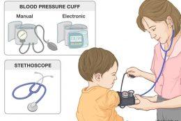 cách dùng máy đo huyết áp omron cho trẻ em