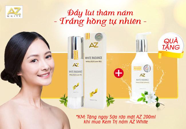 Kem trị nám az white hiện đang được cung cấp rộng rãi trên thị trường