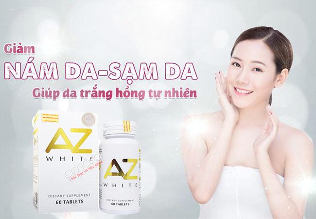AZ White cải thiện độ trắng sáng sau 12 tuần sử dụng