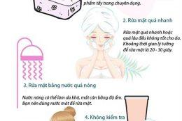 6 sai lầm thường gặp khi chăm sóc da