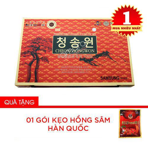 Mua tinh dầu thông đỏ hãy mua Tinh dầu thông đỏ Cheongsongwon tại Siêu Thị Sức Khỏe Gia Đình – Sieuthisuckhoe.vn