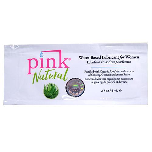 Dầu bôi trơn âm đạo Pink gốc nước từ thiên nhiên 100% gói lẻ