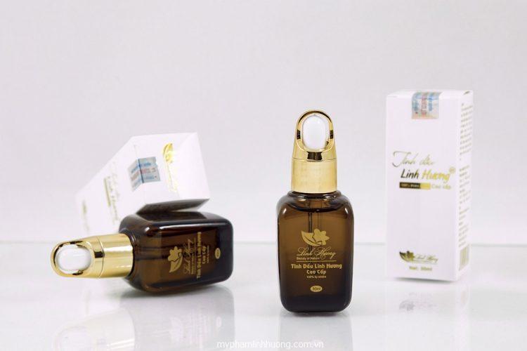 Tinh dầu trị thâm nhũ hoa linh hương an toàn cho người dùng